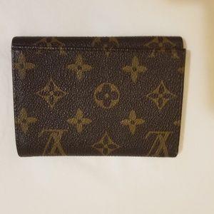 Louis Vuitton men's trifold wallet